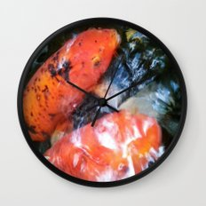 Koi Abstraction 001 Wall Clock