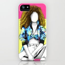 That don't impress me none | Screen Girl | Print iPhone Case