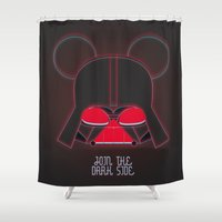 vader Shower Curtains featuring Vader  by danvinci