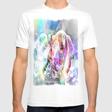 Just Dance! White Mens Fitted Tee MEDIUM
