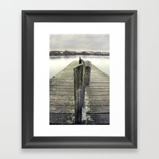Wastin' Time Framed Art Print