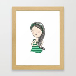 Menta Framed Art Print