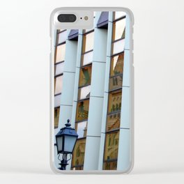 Budapest Hilton Hotel Clear iPhone Case