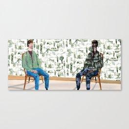 Self-Perception Canvas Print