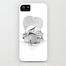 Floating.  iPhone Case