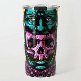 Face helmet Color Travel Mug