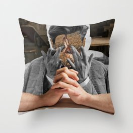 Keep counting thoughts Throw Pillow