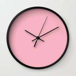 Pastel Pink Wall Clock