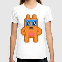 8bit T-shirts featuring 8Bit RaveBear by Bear Picnic