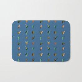 Origami A (blue) Bath Mat