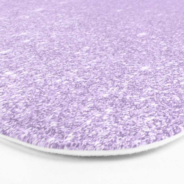3dc72eef551e5f Modern pastel purple lavender ombre glitter color block Bath Mat by ...