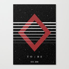 To|Be Original Canvas Print