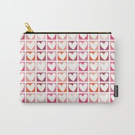 HEARTS A PLENTY! Carry-All Pouch
