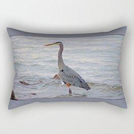 still here wading  Rectangular Pillow