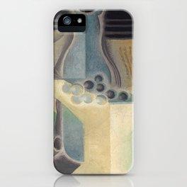 "Juan Gris ""Raisins, carafe et livre (Grapes, jug and book)"" iPhone Case"