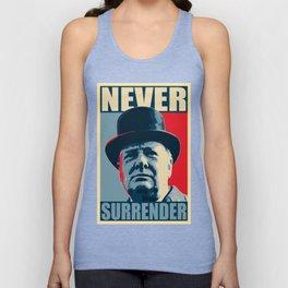 Never Surrender Unisex Tank Top