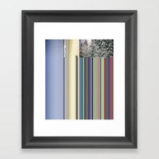 Summer/Winter Framed Art Print