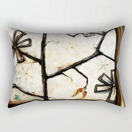 Barn Flower Rectangular Pillow