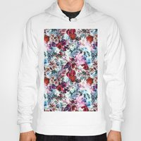 floral pattern Hoodies featuring Floral Pattern by Eduardo Doreni