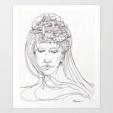 Riflessioni Art Print