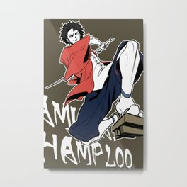 Samurai Champloo Metal Print