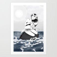 mujer! Art Print