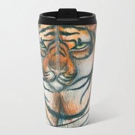 Moon Tiger Metal Travel Mug