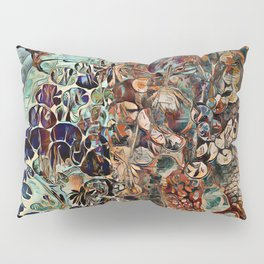 Entangled Mind Painting Pillow Sham