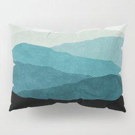Fading Mountains Pillow Sham