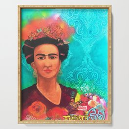 Frida Fragil y fuerte Serving Tray