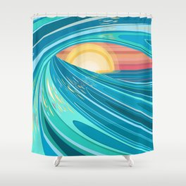 CHASING HELIOS Shower Curtain