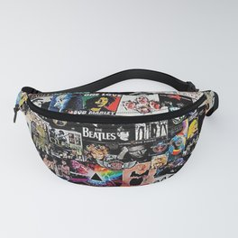 Rock Collage Fanny Pack
