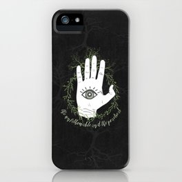 Adam, The Magician - The Raven Cycle iPhone Case