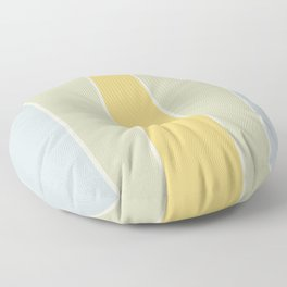 Soft Vintage Color Block Floor Pillow