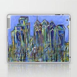 Blue Philadelphia Skyline Laptop & iPad Skin