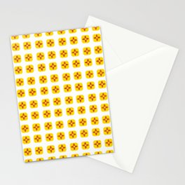 Flag of new mexico -with soft square Stationery Cards