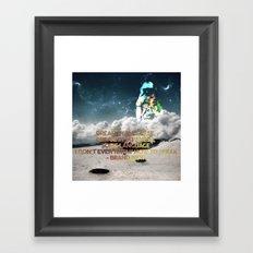 Dream In Japanese Framed Art Print