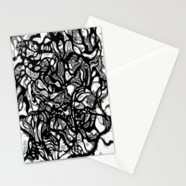 Structured Nothingness Stationery Cards