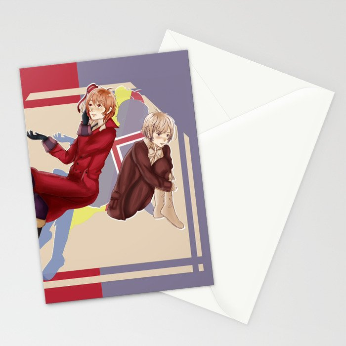 Aph Romania & Iceland Illustration Stationery Cards