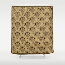 Abstraction. The medallion. Shower Curtain
