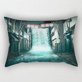 Urban Waterfall Rectangular Pillow