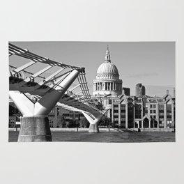 Millennium Bridge and St.Paul's Rug