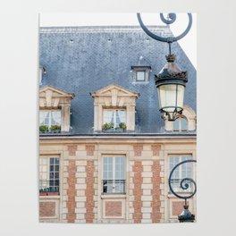 Place des Vosges in Paris France Poster