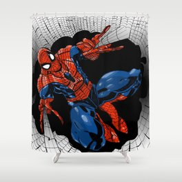 Spidey Color Shower Curtain