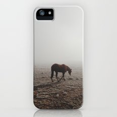 Fogged Horse iPhone SE Slim Case