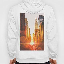 NYC Skyline Sunset Hoody