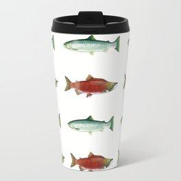 PNW Salmon Dance Travel Mug