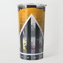 Polarized - triangle sunset Travel Mug