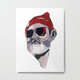 Team Zissou Metal Print