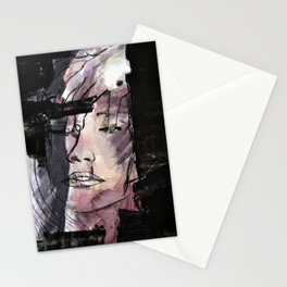 Skinny thoughts Watercolor Stationery Cards